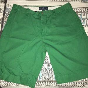 Polo Ralph Lauren Green Shorts Men's Size 34